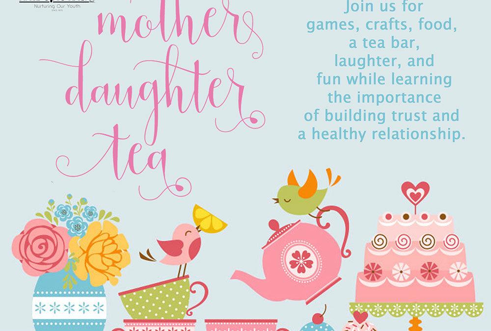 Mother Daughter Tea May 7, 2019