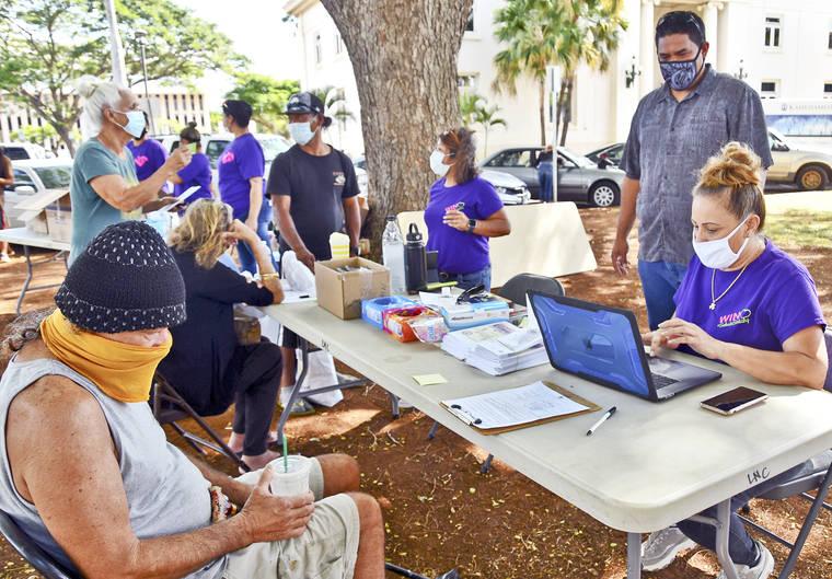 County hosts houseless outreach
