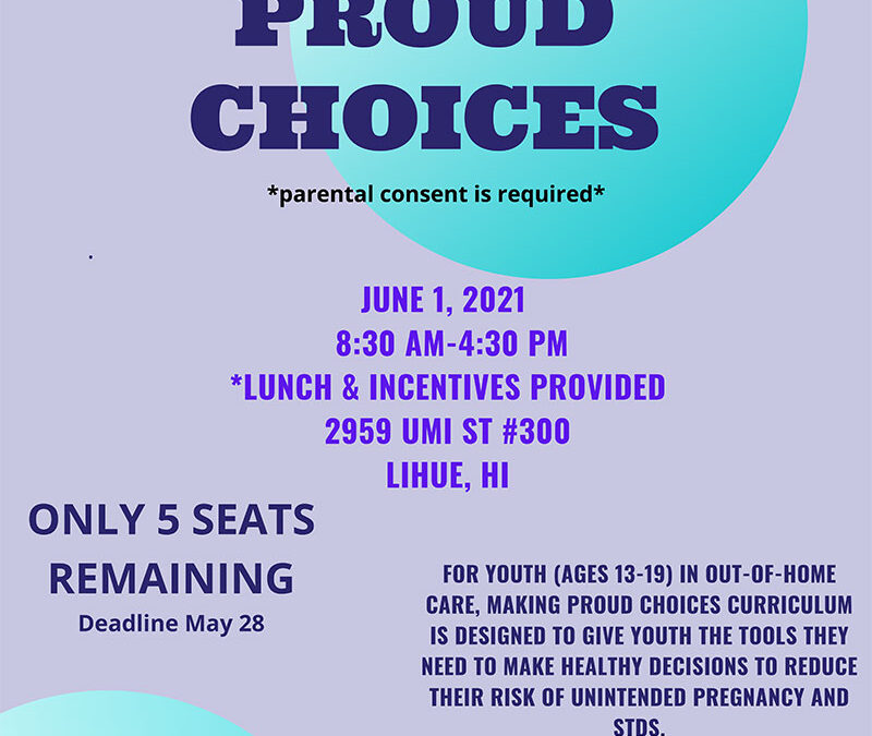 Making Proud Choices 2021