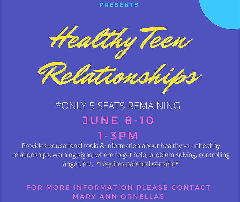 Healthy Teen Relationships 2021