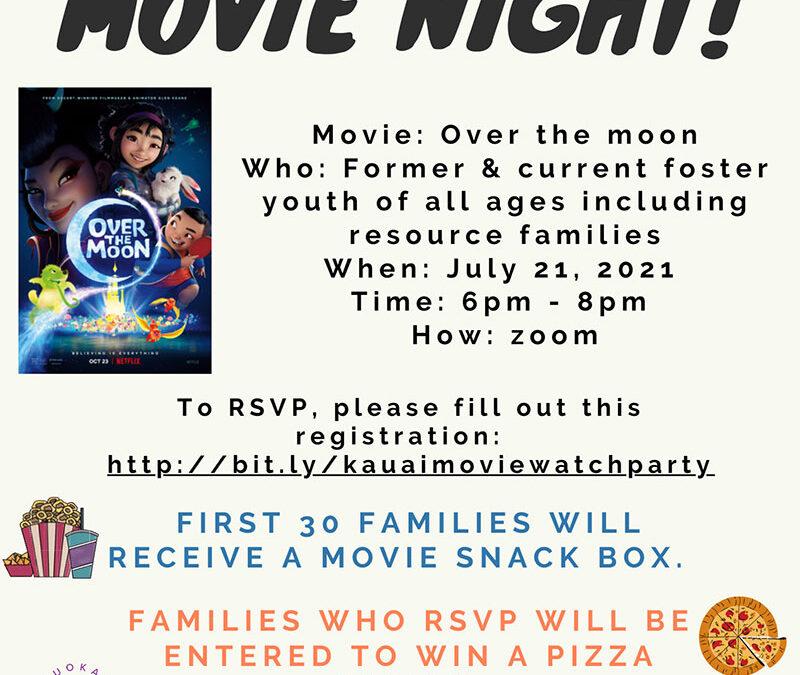 Movie Night July 21, 2021