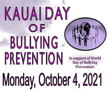 Kauai Day of Bullying Prevention 2021