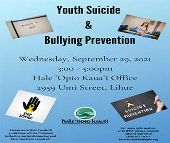 Youth Suicide & Bullying Prevention