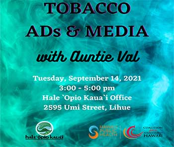 Tobacco – Ads & Media with Auntie Val