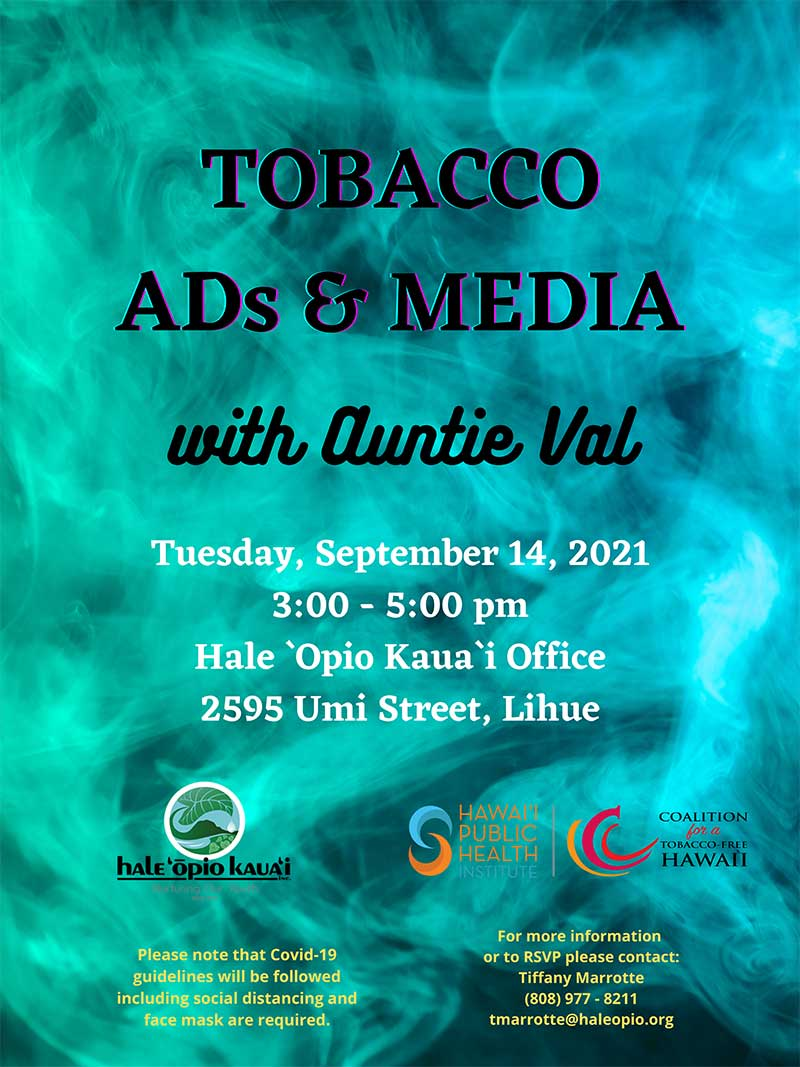 Tobacco - Ads & Media with Auntie Val