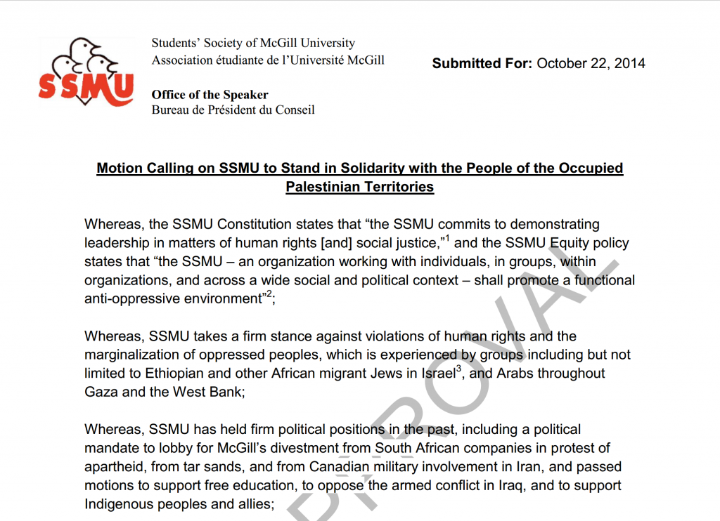 Excerpt from the Motion