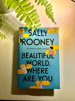sally rooney beautiful world where are you?