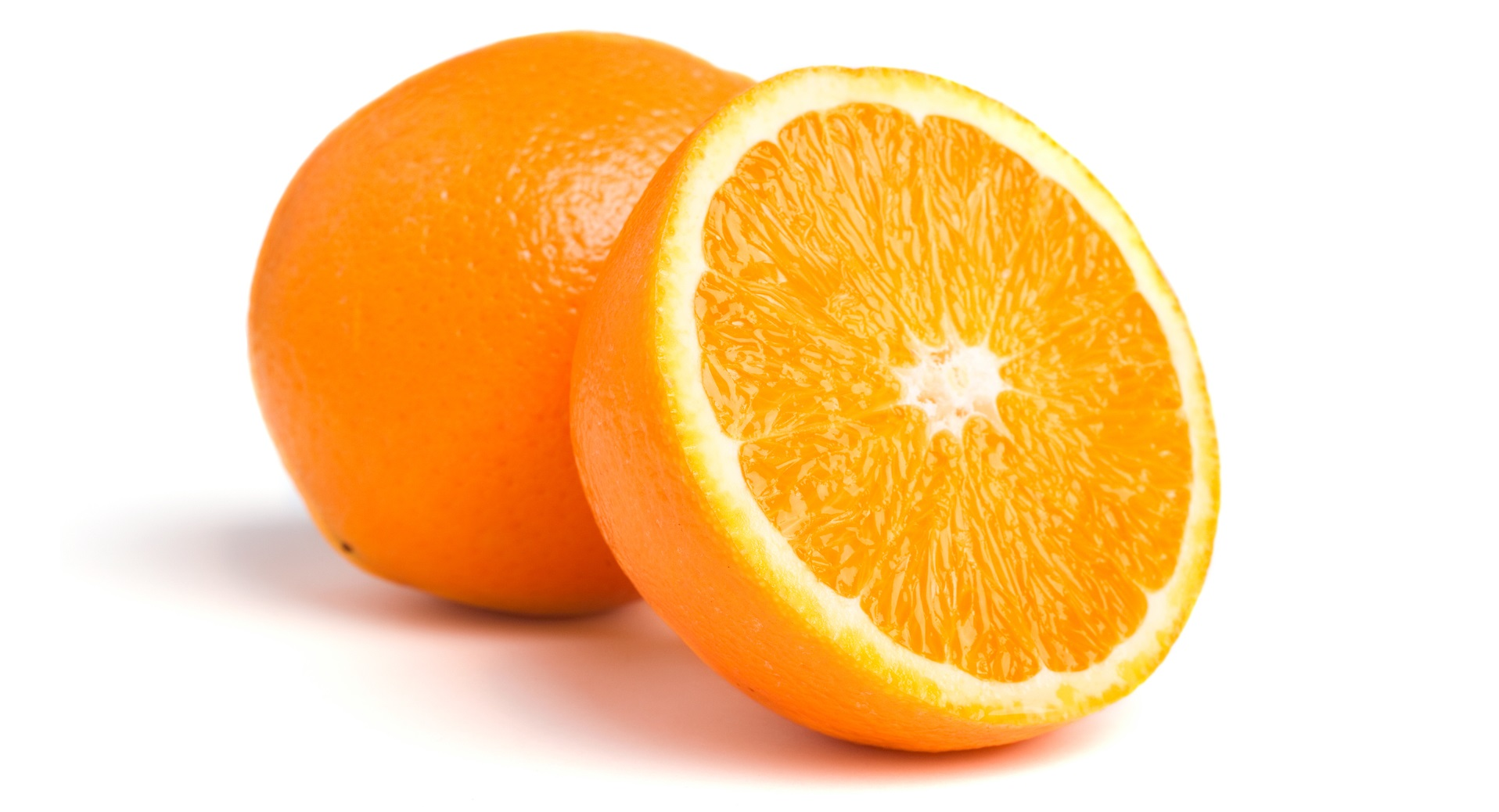 One and half oranges