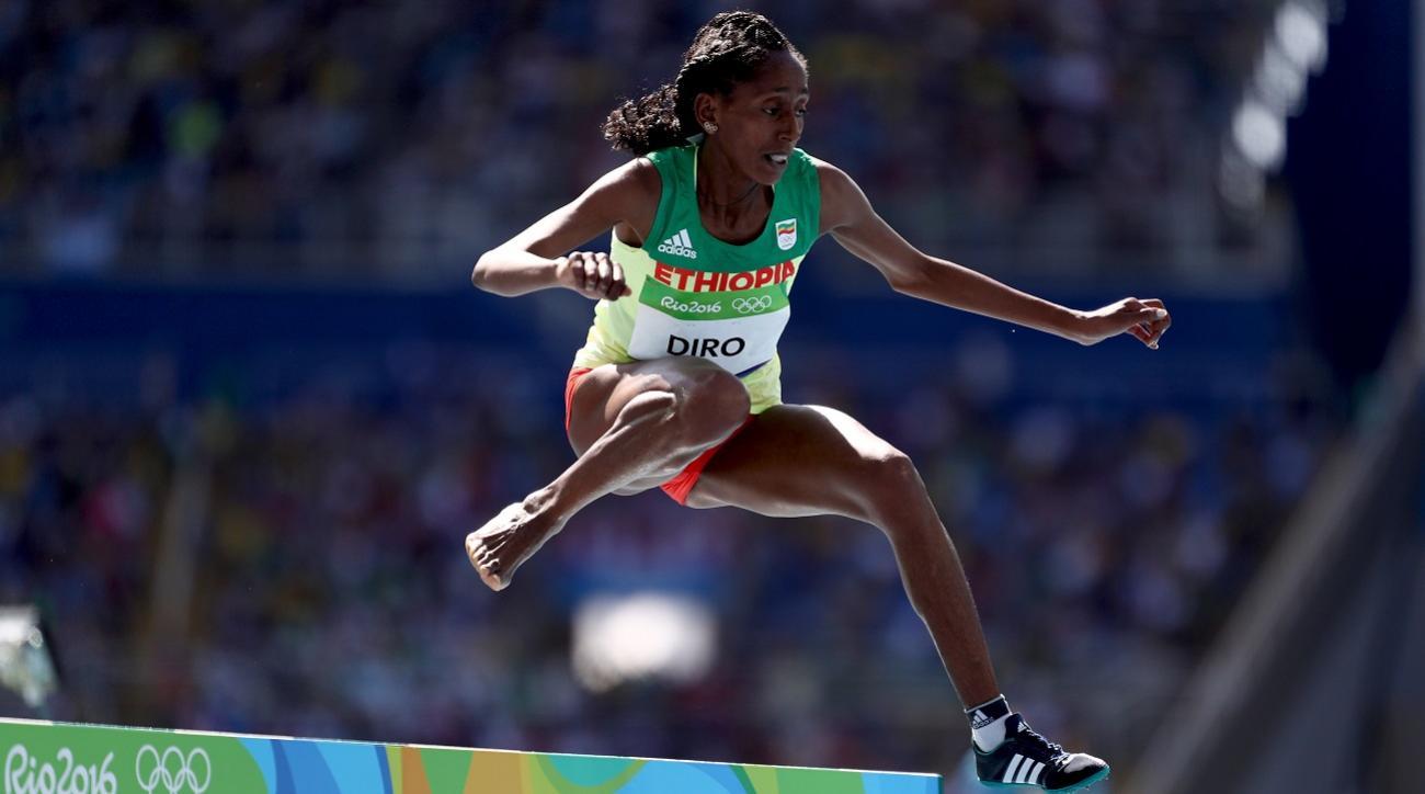 etenesh-diro-finishes-steeplechase-one-shoe
