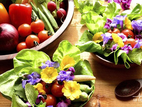 beneficios de comer flores