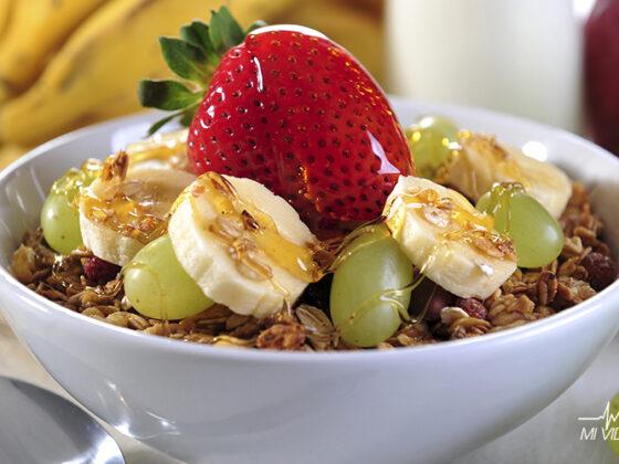 Desayuno para corredores avena