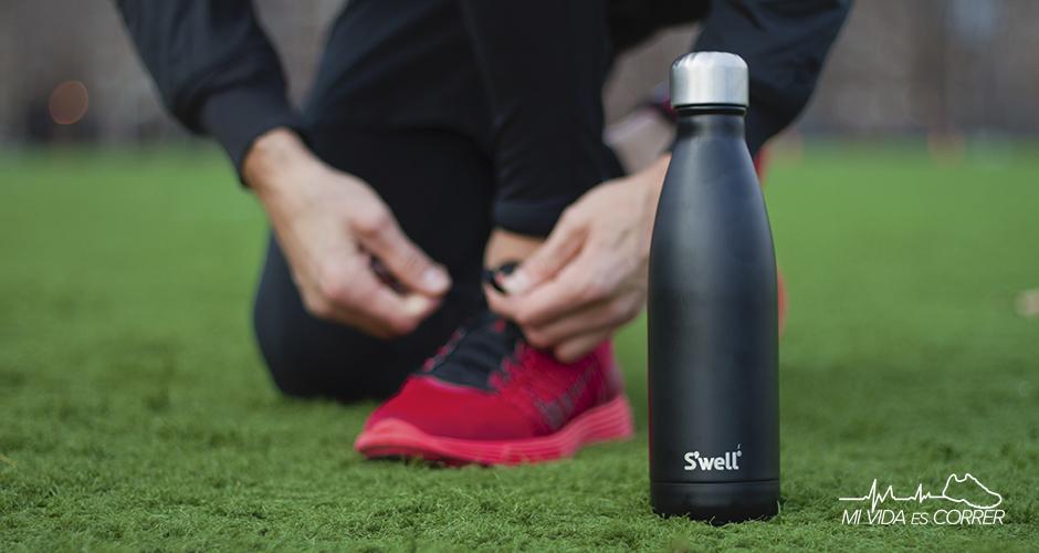 botellas de agua para correr swell
