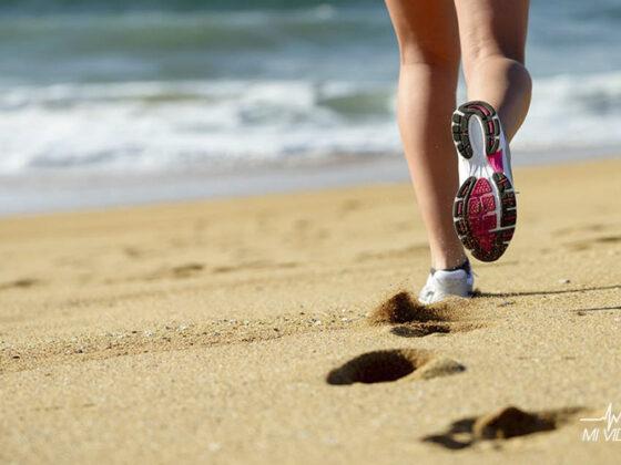 correr en la playa tips