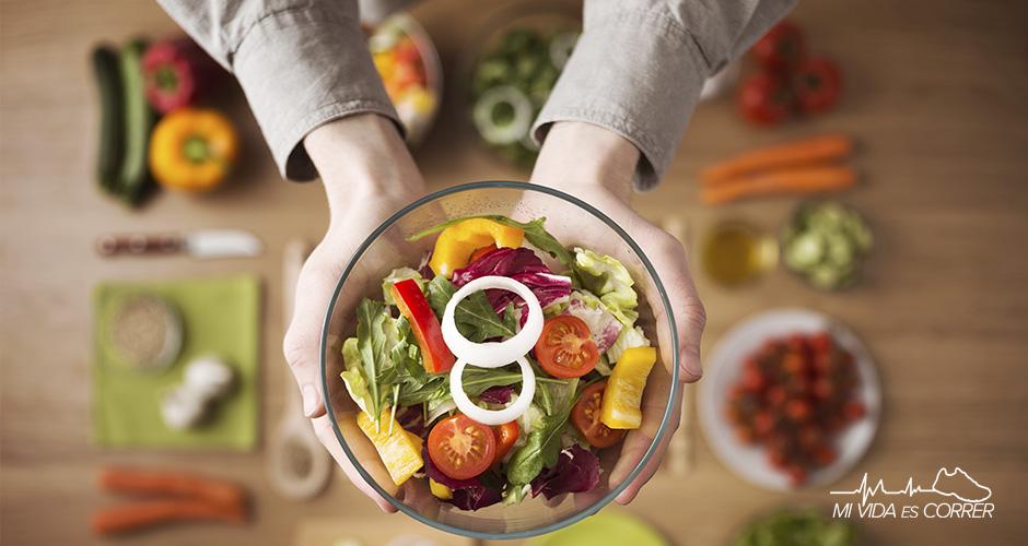 alimentos malos para corredores mesa