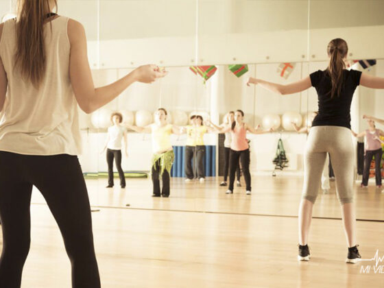 danza para corredores entrenamiento