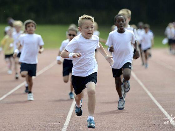 edad ideal para empezar a correr niños
