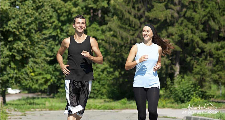 los beneficios de correr para la vida sexual pareja