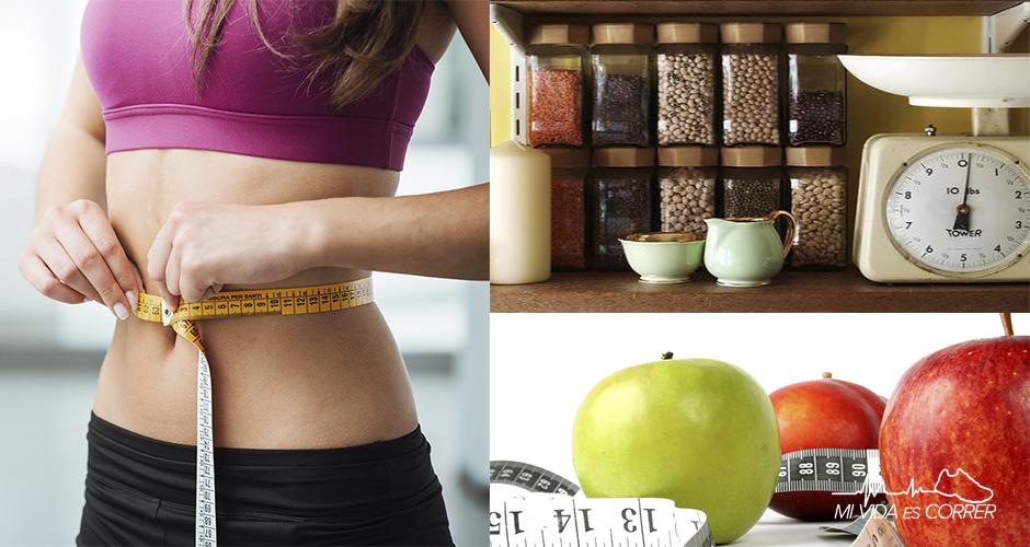 La perdida de peso con hábitos saludables