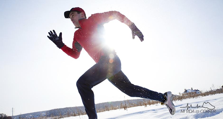 tips para correr con frío nieve