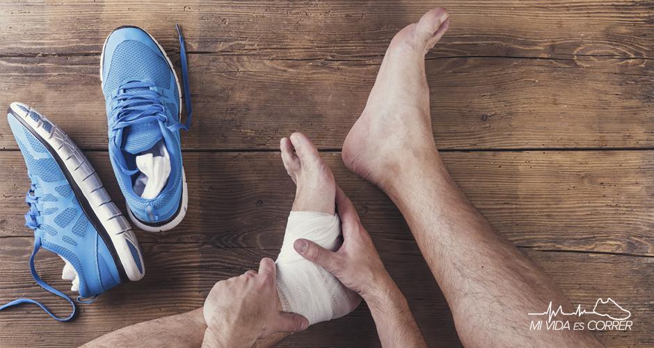 qué hacer en caso de lesiones deportivas venda