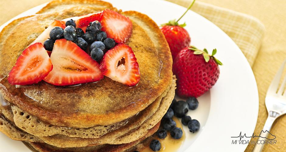 recetas de hot cakes nutritivos desayuno