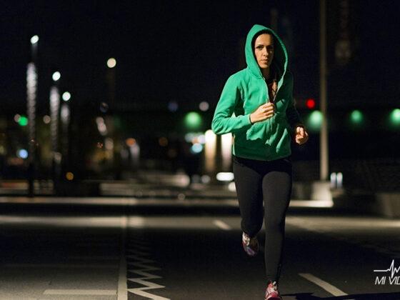 accesorios de seguridad para correr en la noche