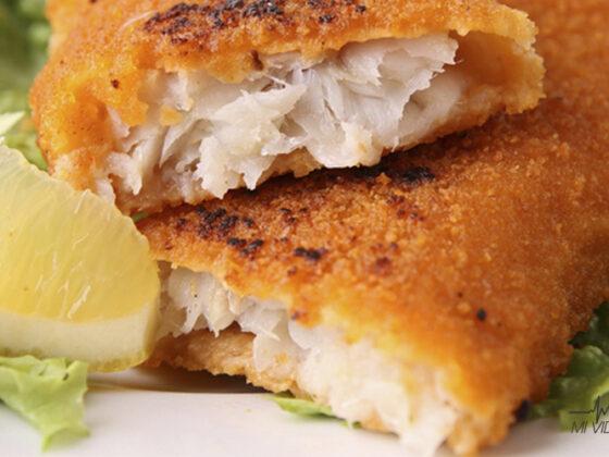 alternativas para el empanizado pescado