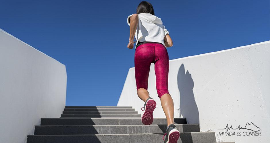actividades que queman calorías subir escaleras