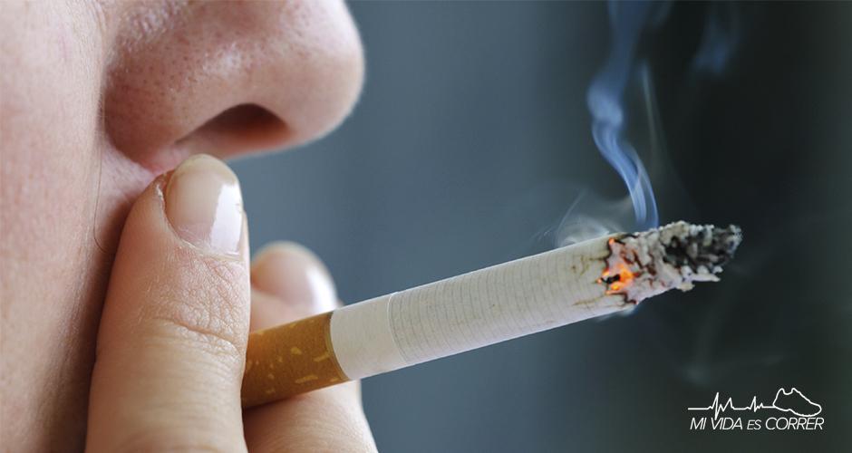 fumar es malo para correr daños