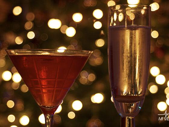 bebidas alcohólicas con menos calorías navidad