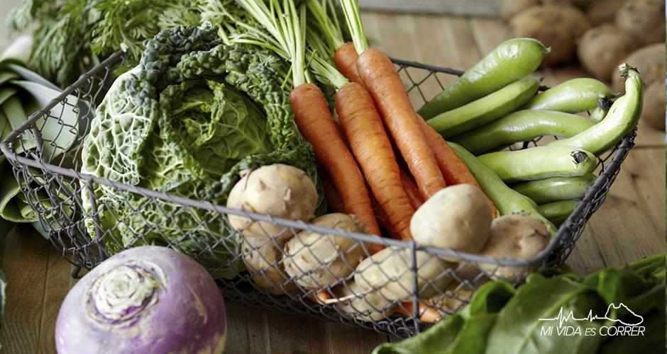 las mejores verduras para deportistas corredores