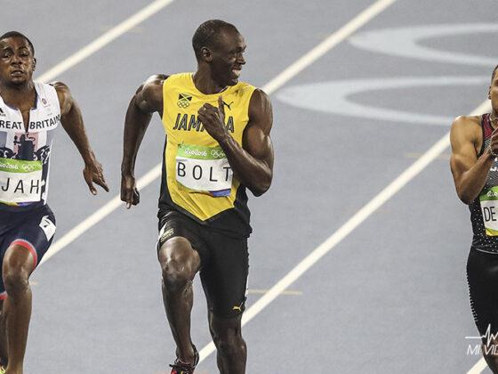 historia de Usain Bolt corredor