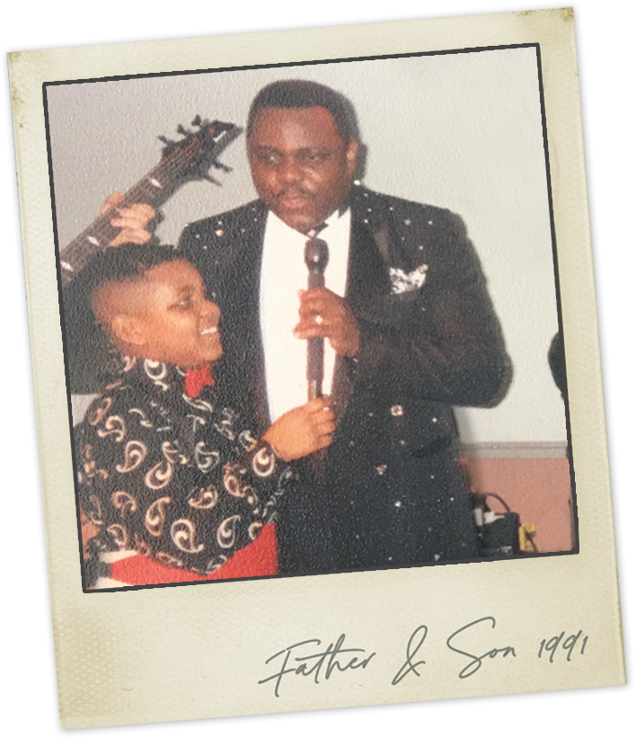 Father and Son: Bobby Nicholas and Trevor Dion Nicholas