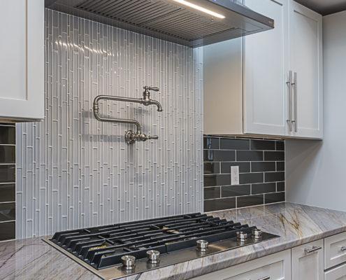 Custom Oven, Countertops and Pot Filler