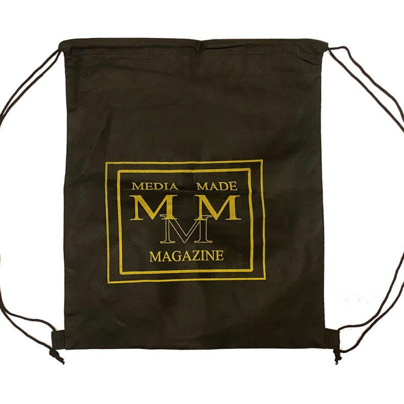 Media Made Back Pack Bag