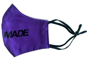Purple Media Made Mask