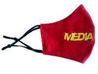 Red Media Made Mask
