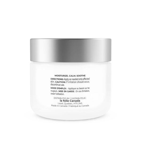 Cream for sensitive skin and couperose la folie montreal canada