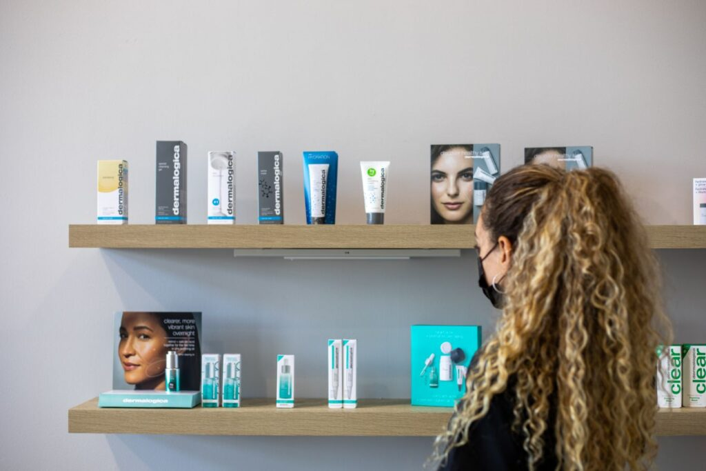 spa business cosmetic products become a spa owner