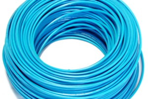 photo of solid copper coaxial cable and link to Category Cable page