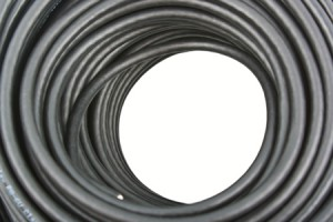 photo of solid copper coaxial cable and link to Solid Copper Coaxial Cable page