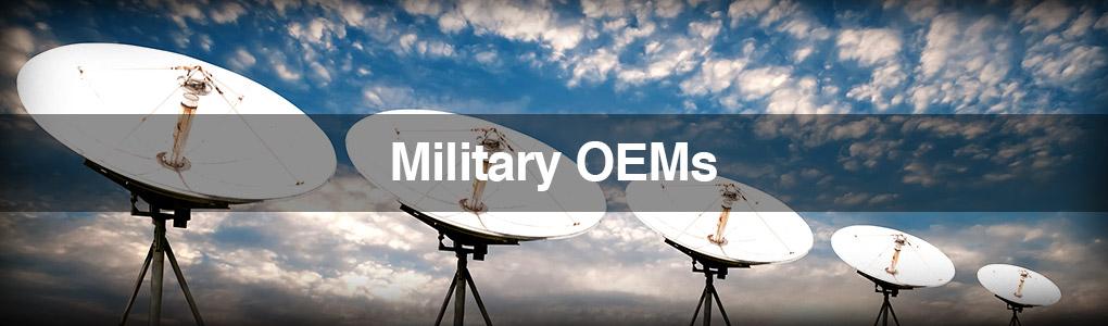 Satellite Array Image - Military OEMs