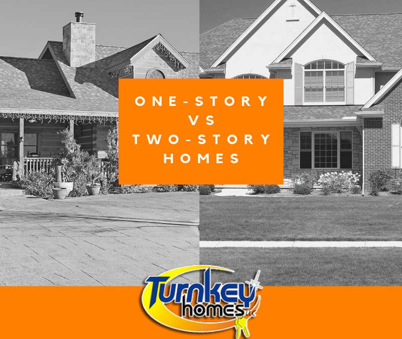 Building a One-Story vs Two-Story Home