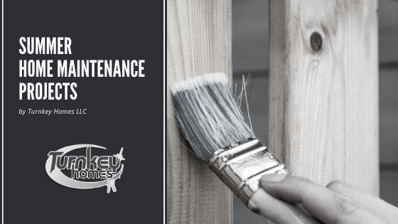 Summer Home Maintenance Projects
