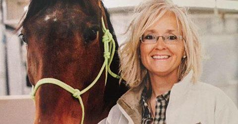 Ginger Grimes, Founder, Dust Devil Ranch Sanctuary for Horses