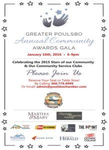 Community Awards Gala Poster