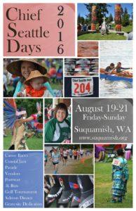 2016 Chief Seattle Days Website Flyer