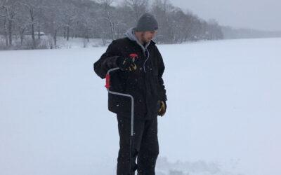 Ice Fishing in Pepin County