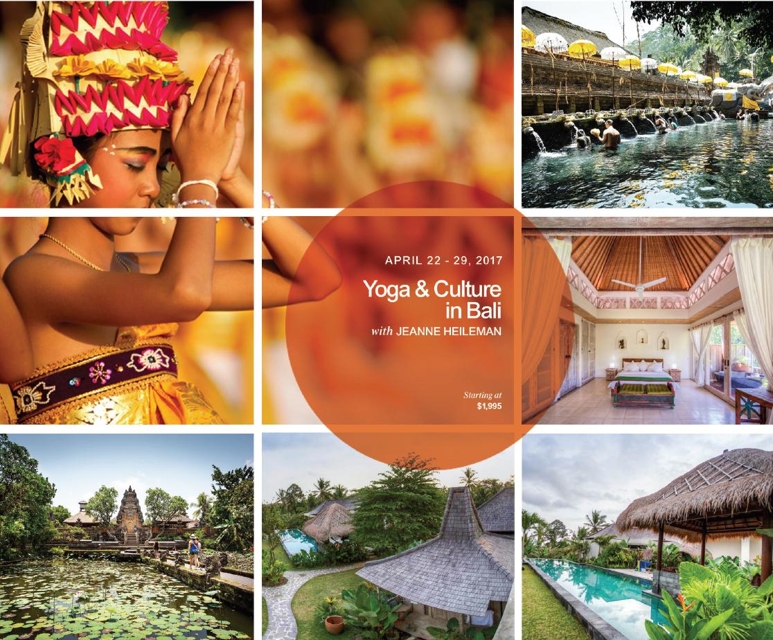 Yoga & Culture: Bali April 2017