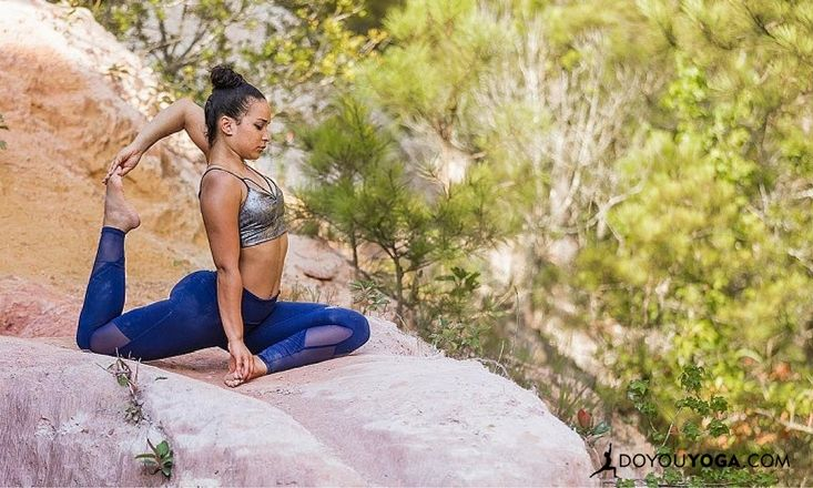 Building Up to One-Legged King Pigeon Pose